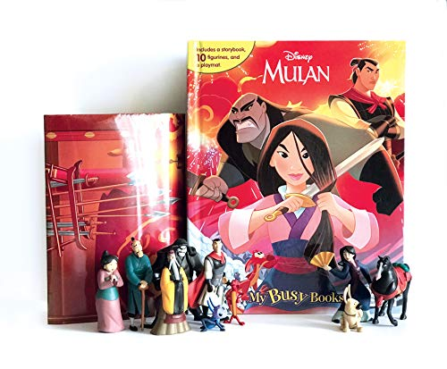 Disney Mulan My Busy Books
