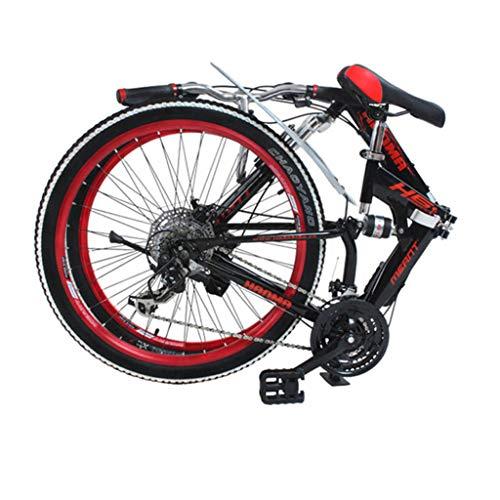 24/26 inch Volledige ophanging vouw Schijfrem 27 speed Mountainbike