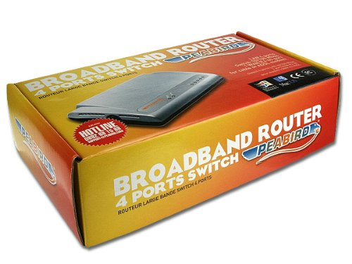 Peabird PEAB-DSL-SW4-router ADSL wireless a con Switch 4 porte