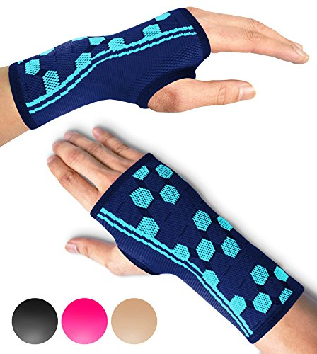 Sparthos Hand Grip Strengthening Sleeves - Premium Hand Grip Exercise Training Brace Workout Guide