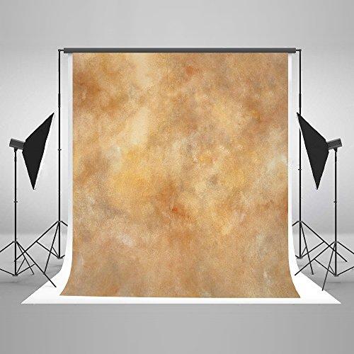 KateHome PHOTOSTUDIOS 1,5x2,2m Fondale Fotografico Giallo Sfondi per Fotografia Figura Fondali Fotografici Professionali