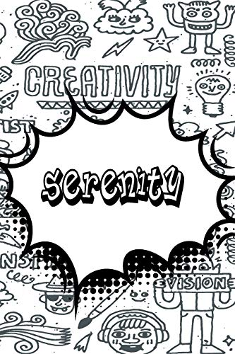 Serenity: Blank Comic Book Doodle Story Telling Journal Notebook 120 pages 6'x9'
