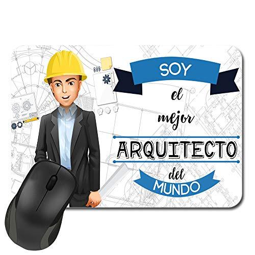 Kembilove Alfombrilla de ratón Arquitecto - Esta Alfombrilla de ratón Pertenece al Mejor Arquitecto del Mundo - Regalo Personalizado (Arquitecto)