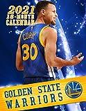 Golden State Warriors: SPORT Calendar – 2021.2022 – 18 months – 8.5 x 11 inch High Quality – Resolution Images