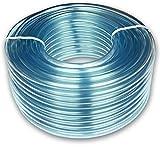 PCP16/19 - Tubo transparente (1,6 x 1,9 cm, PVC, 5 m)