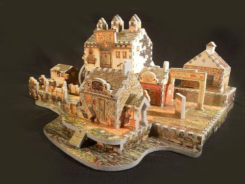 Old Mill at Stony Creek, 745 Piece 3D Jigsaw Puzzle Made by Wrebbit Puzz-3D by Wrebbit