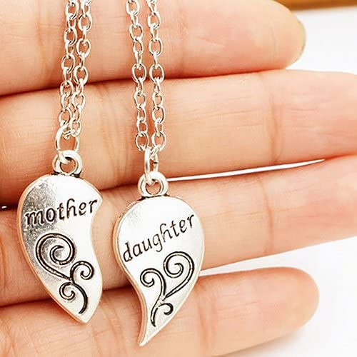 SANWOOD Necklaces for Women 2Pcs price Mother Car overseas Daughter Set Flower