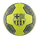 FC Barcelona - Balón de fútbol, color amarillo neón
