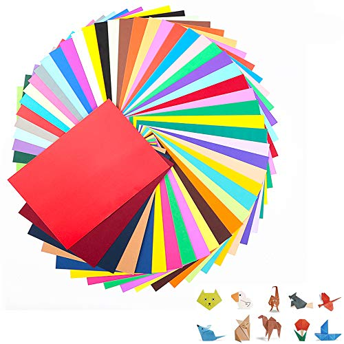 FUKTSYSM Coloured Card - A4 100 Sheet Pack 230gm, More Fun Crafting and Decorating, Sketch and Cutting Paper, 20 Assorted Colours