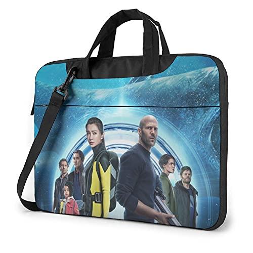 XCNGG The Meg Laptop Bag Tablet Maletín portátil Funda protectora Funda Messenger Bolsas de 13 pulgadas