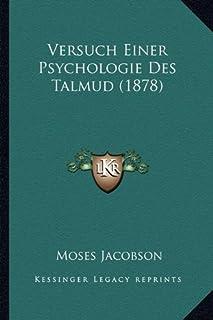 Versuch Einer Psychologie Des Talmud (1878)
