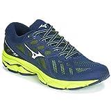 Mizuno Wave Ultima 11, Chaussures de Running pour Homme, Bleu (DressBlue/VaporBlue/BlazingYellow 53), 45 EU