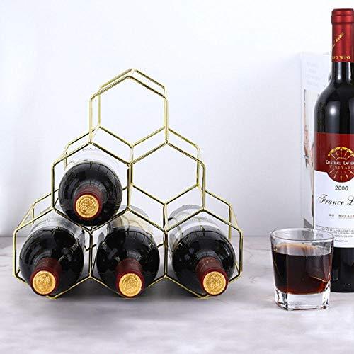 Portabottiglie Da Appoggio Portabottiglie Da 6 Bottiglie Portabottiglie Da Vino Moderno In Metallo Nero Piccolo Portabottiglie Da Vino Cucina Bar Portabottiglie Da Tavolo