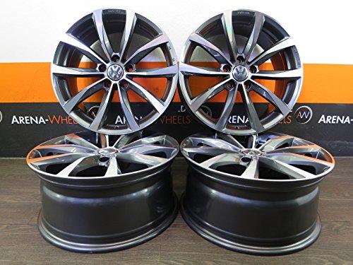4 Alufelgen MAK WOLF 19 Zoll passend für Golf V 5 VI 6 VII 7 GTI R Plus Jetta 8J ET 50 Wolf NEU