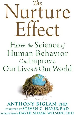 Nurture Effect How the Science of Human Behavior Can Improve Our Lives and Our World product image