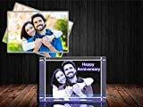 Personalized Custom 3D Photo engraved Crystal (Large Rectangle (3.1' x 4.7' x 2.4'))