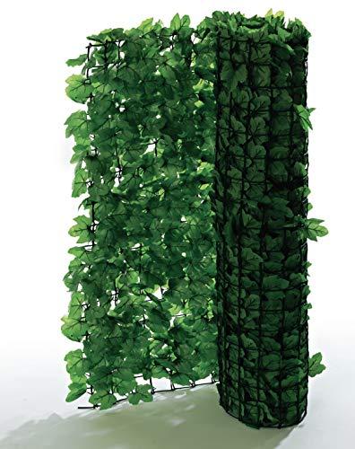 Pureday Sichtschutzhecke Efeu, zuschneidbar, grün, je ca. B3 x H1 m, 2er-Set