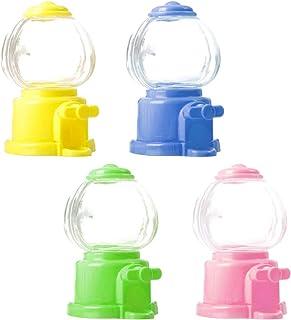 STOBOK Lot de 4 mini machines à bonbons pour enfants - Mini machine à jouets pour marché annuel - Cadeau pour enfants