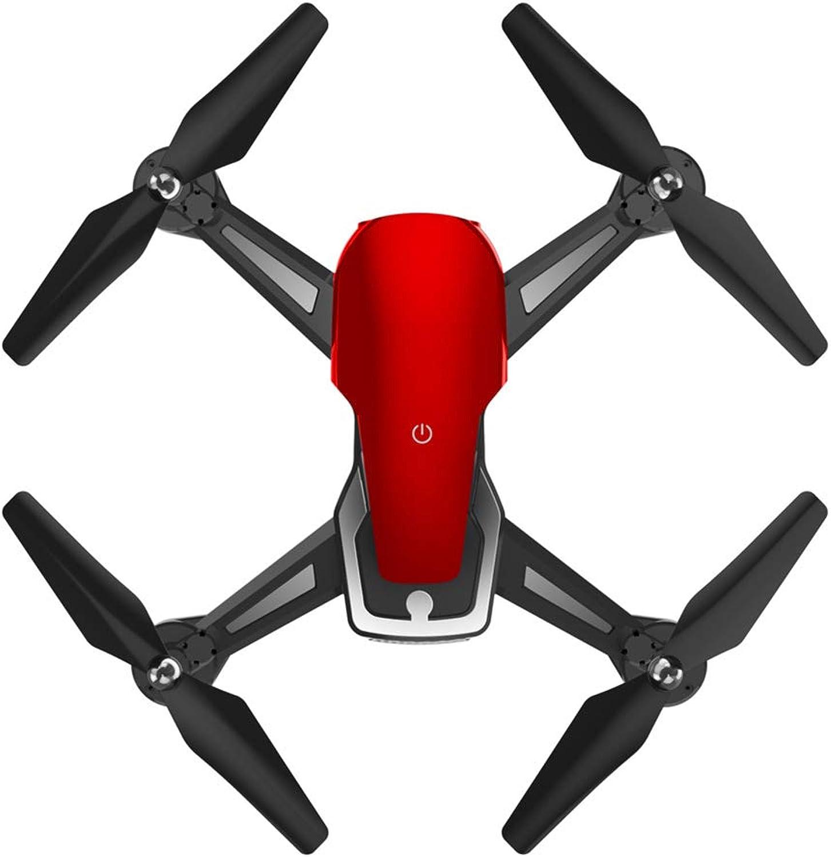productos creativos WANGKM Mini WiFi Drone, Altura Altura Altura Fija Plegado Quadcopter FPV HD Altitud de retención Modo en Tiempo Real Video en Vivo 3D Rolling Trajector Flying Anti-Drop, Anti-Jamming,rojo,480P  vendiendo bien en todo el mundo