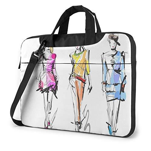 Bolsa de hombro para portátil – Coloridos modelos de moda para niñas...