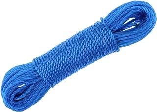CUTICATE 4,5 M 5 Mm Utilitaire /à Lext/érieur Tress/é Multi-Usage en Nylon Cordage Escalade