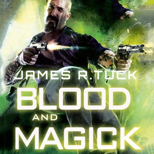Blood and Magick audiobook cover art