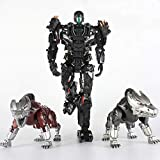 VT01 Deformation Lockdown Two Dogs Alloy Action Figure Model Toys Collection