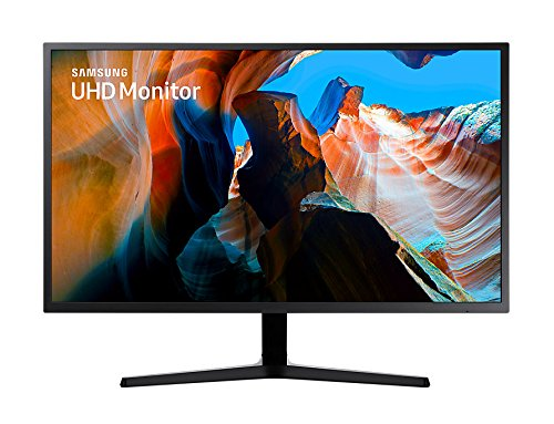Samsung U32J590 LED Display 81,3 cm (32 Zoll) 4K Ultra HD Flach Schwarz - Computerbildschirme (81,3 cm (32 Zoll), 3840 x 2160 Pixel, 4K Ultra HD, LED, 4 ms, Schwarz)