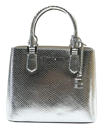 """Leather with gold tone hardware Unlined Interior features Center zippered compartment Adjustable and removable crossbody strap with drop 22""""; Double handle drop 4"""" 7.75"""" (H) x 8.75"""" (L) x 4"""" (D)"""