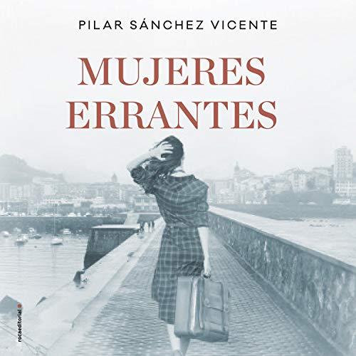 Diseño de la portada del título Mujeres errantes