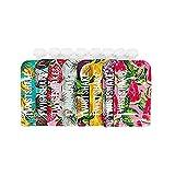 Twistshake Gourde Compote Enfant Réutilisable x 8, sans BPA, Imprimé Fruits, 220 ml, 8 Unités