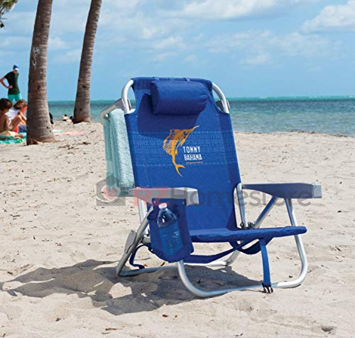 Tommy Bahama Backpack Chair - Insulated Cooler Pouch - 5...