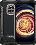 DOOGEE S86 Rugged Smartphone 8500 mAh Grande Batteria, 6 GB + 128 GB, Telefono Cellulare con Altoparlante da 2W, 6.1'HD +, 4G Dual, IP68/IP69K, Cellulare Android 10 Helio P60 16MP Supporto NFC,Nero