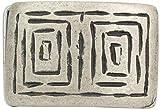 Brazil Lederwaren Gürtelschnalle Buckle 4,0 cm | Buckle Wechselschließe Gürtelschließe 40mm Massiv | Für Wechselgürtel bis zu 4cm Breite