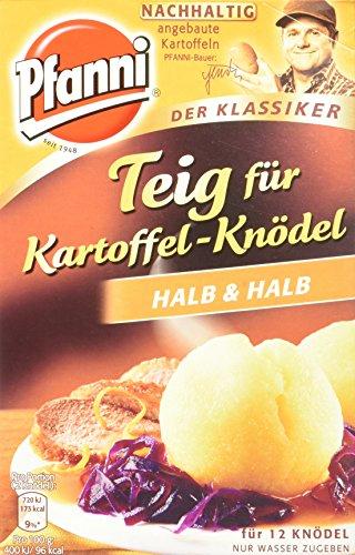 Pfanni Teig, für Kartoffelknödel Halb & Halb aus nachhaltigem Anbau, 318g 1 Packung 12 Knödel
