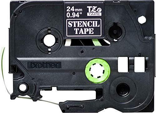 BROTHER ST151 Schablonenbandkassetten 3mx24mm nicht laminiert fuer P-touch 9200PC 9200DX 9400 3600 9600 9500PC