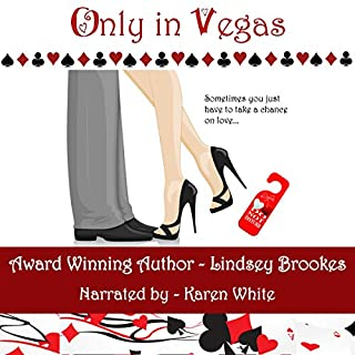 Only in Vegas audiobook cover art