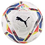 PUMA LaLiga 1 Accelerate (FIFA Quality Pro) WP Ballon De Foot Unisex-Adult, White-Multi Colour, 5