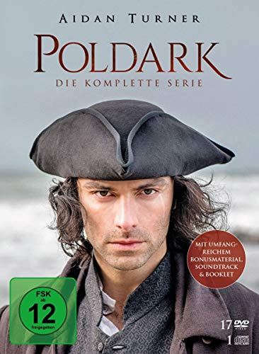 Poldark - Die komplette Serie [17 DVDs + 1 CD]