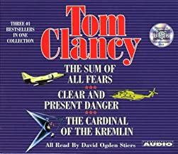 Tom Clancy (Three #1 Bestsellers in One Collection: The Cardinal Of The Kremlin, Clear and Present Danger, The Sum Of All Fears)