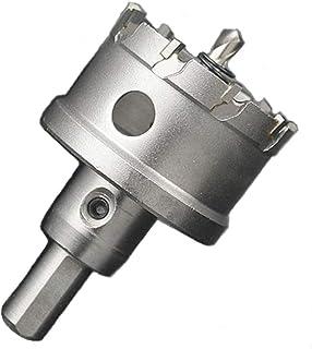 ShopXJ 超硬 ステンレス ホールソー 保管用ケース付き 穴あけ 電動ドリル ホルソー ホールカッター (50mm)