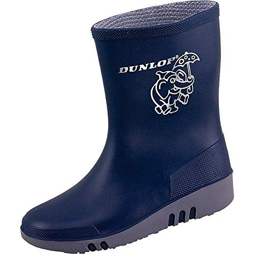 Dunlop Kinder Gummistiefel Mini (26, blau)
