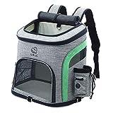 QHorse Gloves Comb Haustierrucksack Cat Satchel Tragetasche Travel Pet Pack Hunderucksack...
