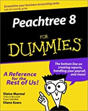 Peachtree 8 For Dummies (For Dummies (Computer/Tech))
