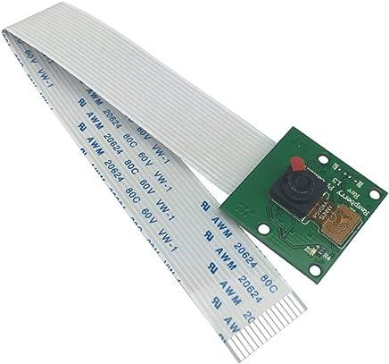PGIGE per Raspberry Pi 3 Modello B + Camera Module 1080p 720p Mini Camera 5MP Webcam Videocamera per Raspberry Pi 2 Modello B - Nero - Trova i prezzi più bassi