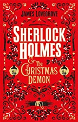 book cover for Sherlock Holmes and the Christmas Demon