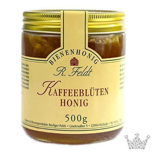 Kaffeeblüten Honig, mittelaromatisch, dunkel, ausgezeichnet durch feines Kaffeearoma, 500g