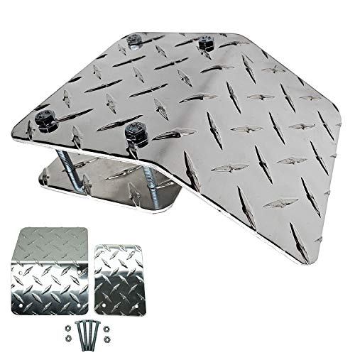 DAGA Ramp End - Heavy-Duty Diamond Plate for ATV, Motorcycles & Lawnmowers You are Purchasing only 1 Ramp End