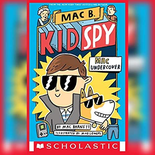 Mac Undercover audiobook cover art