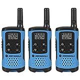 Motorola T100TP Talkabout Radio, 3 Pack (Renewed)